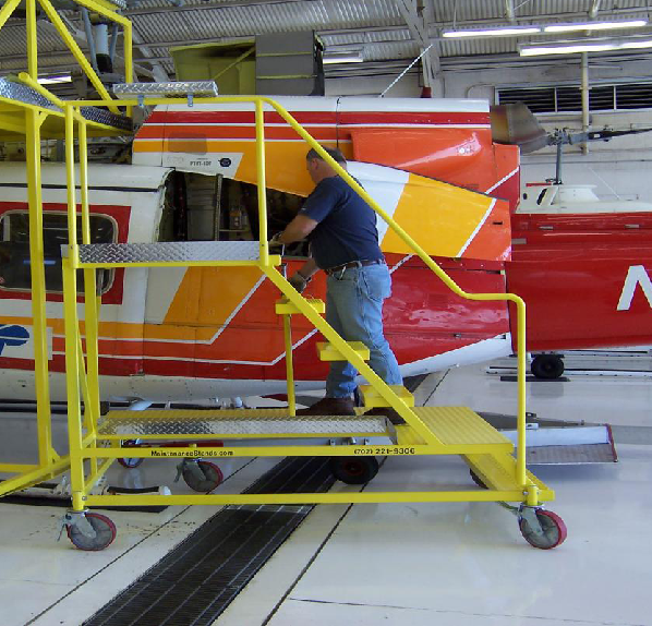 Helicopter Maintenance Stand Extension