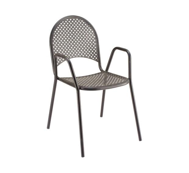 Outdoor furniture-Basketweave Armchair
