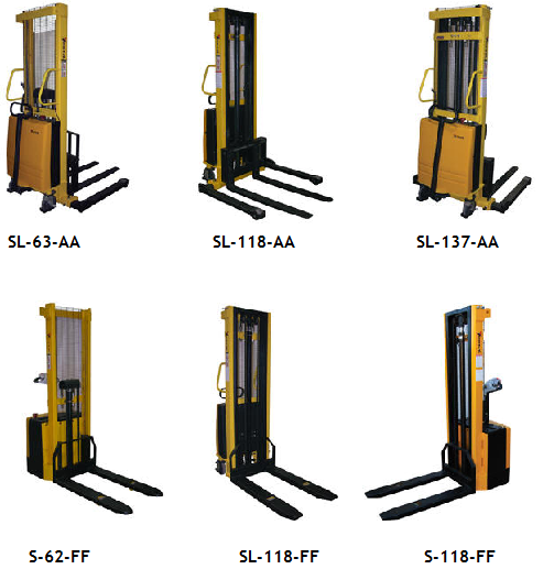 Powered Lift Stackers