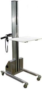 DC Powered Quick Lift Aluminum Front View