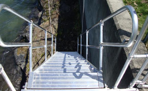 Removable Aluminum Stairways