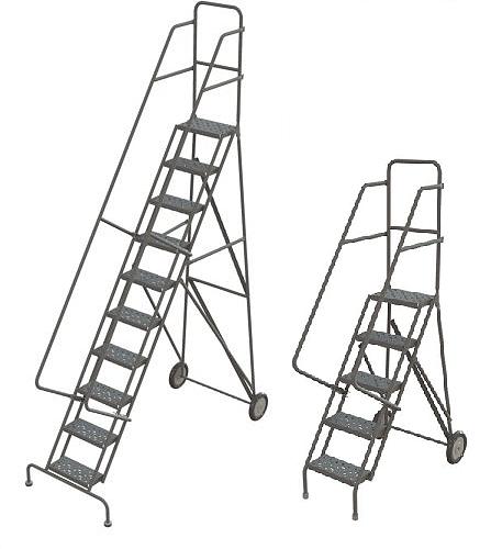 Roll & Fold Steel Ladder