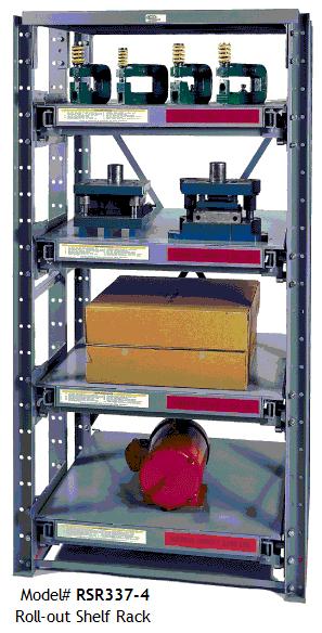 Roll-Out Shelf Racks