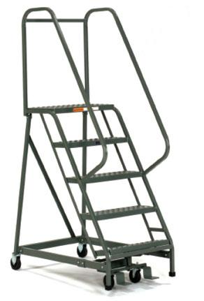 Safety Rolling Ladder 2 to 7 Steps