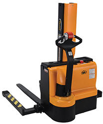 Narrow Mast Stacker with Powered Drive & Lift
