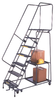 Stock Picking Shelf Ladder