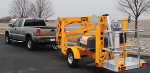 3522A Trailer Mounted Boom Lifts