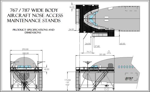 Custom Narrow Body Nose Dock