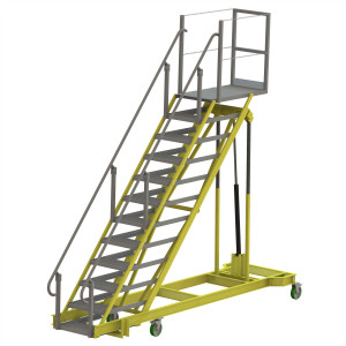 Adjustable Height Ladder