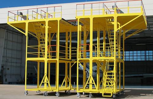 Custom Aircraft Maintenance Stand