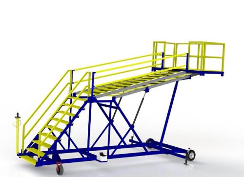 FRP Composite B2 Aircraft Maintenance Stand