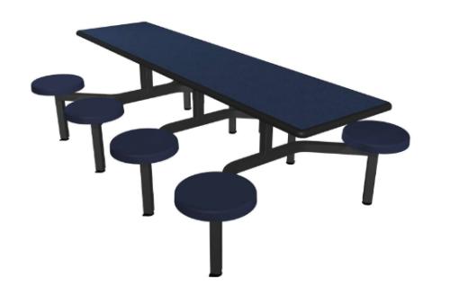 Cafeteria Table Cebra Cluster Units