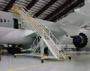 Commercial Aircraft Maintenance Stand