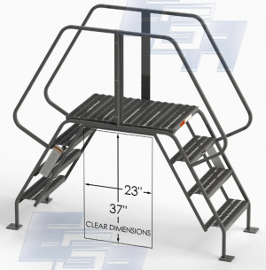 ∠60º Crossover Ladders