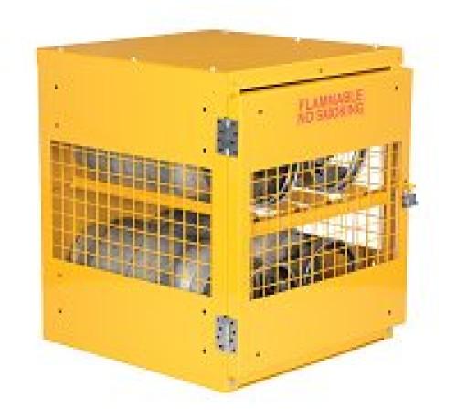 Cylinder Storage Cabinets