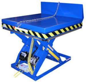 Electric Hydraulic Lift and Tilt Scissor Tables