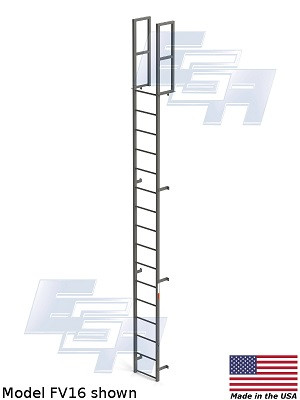 Fixed Vertical and Cage Ladders (FC & FC Series)