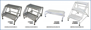 Industrial Step Stands and Stools