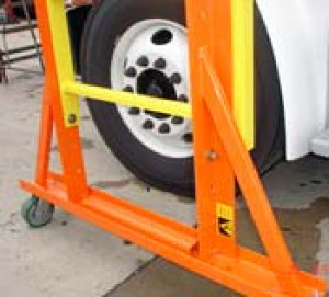 Adjustable Height Reefer Platform