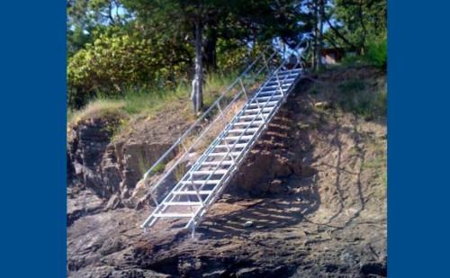 Removable Aluminum Stairways