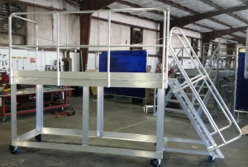 Truck Trailer Work Platform
