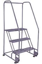 Aluminum Tilt and Roll Ladder