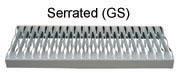 36.4 Degree Industrial Stairway - Serrated Treads