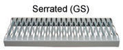 Cantilever Ladder Serrated Tread Option