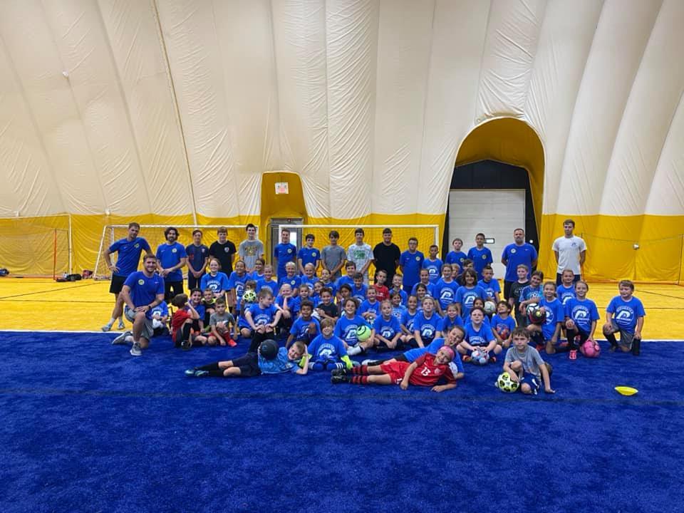 Columbus Day Soccer Clinic