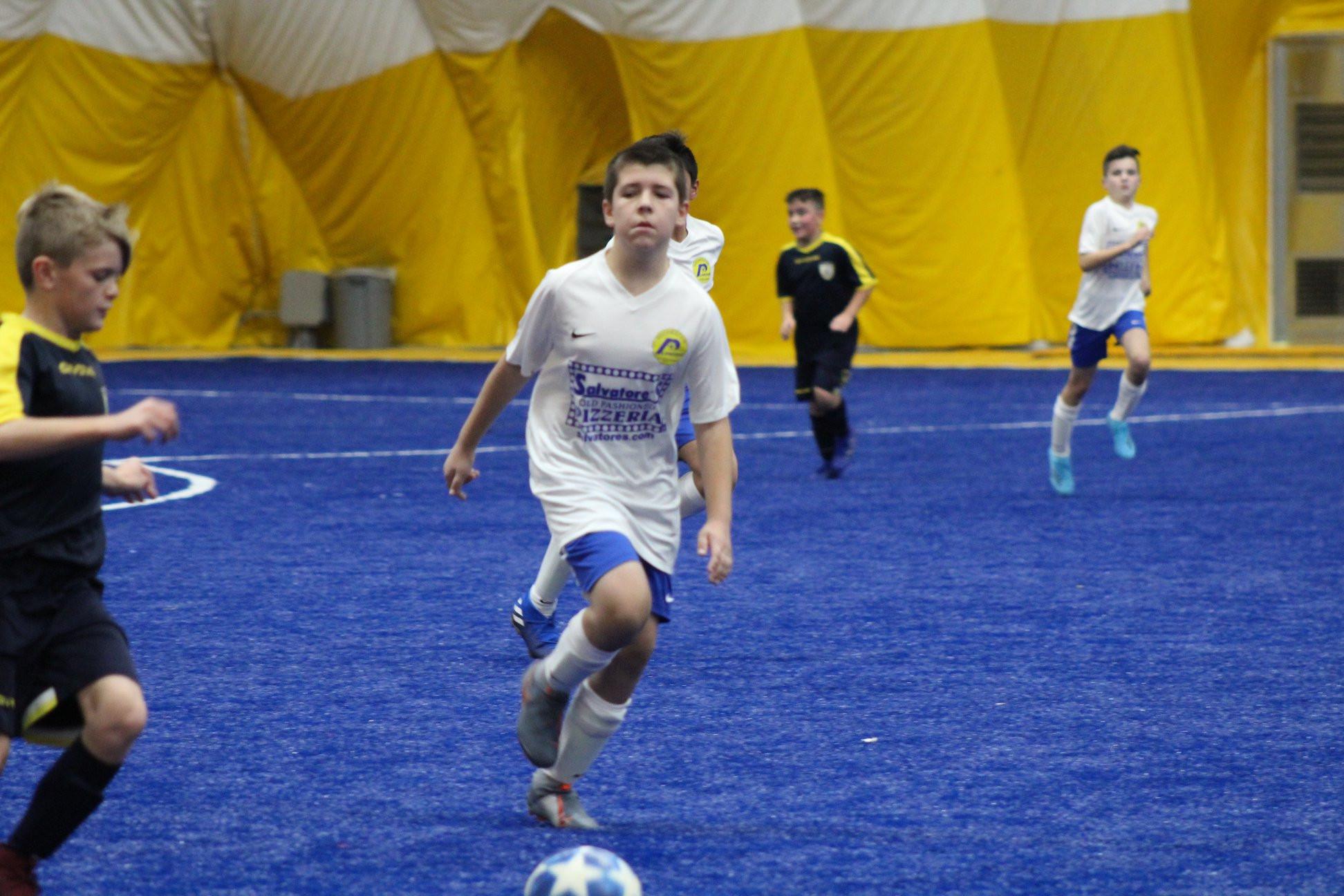 Saturday's 9v9 Indoor League
