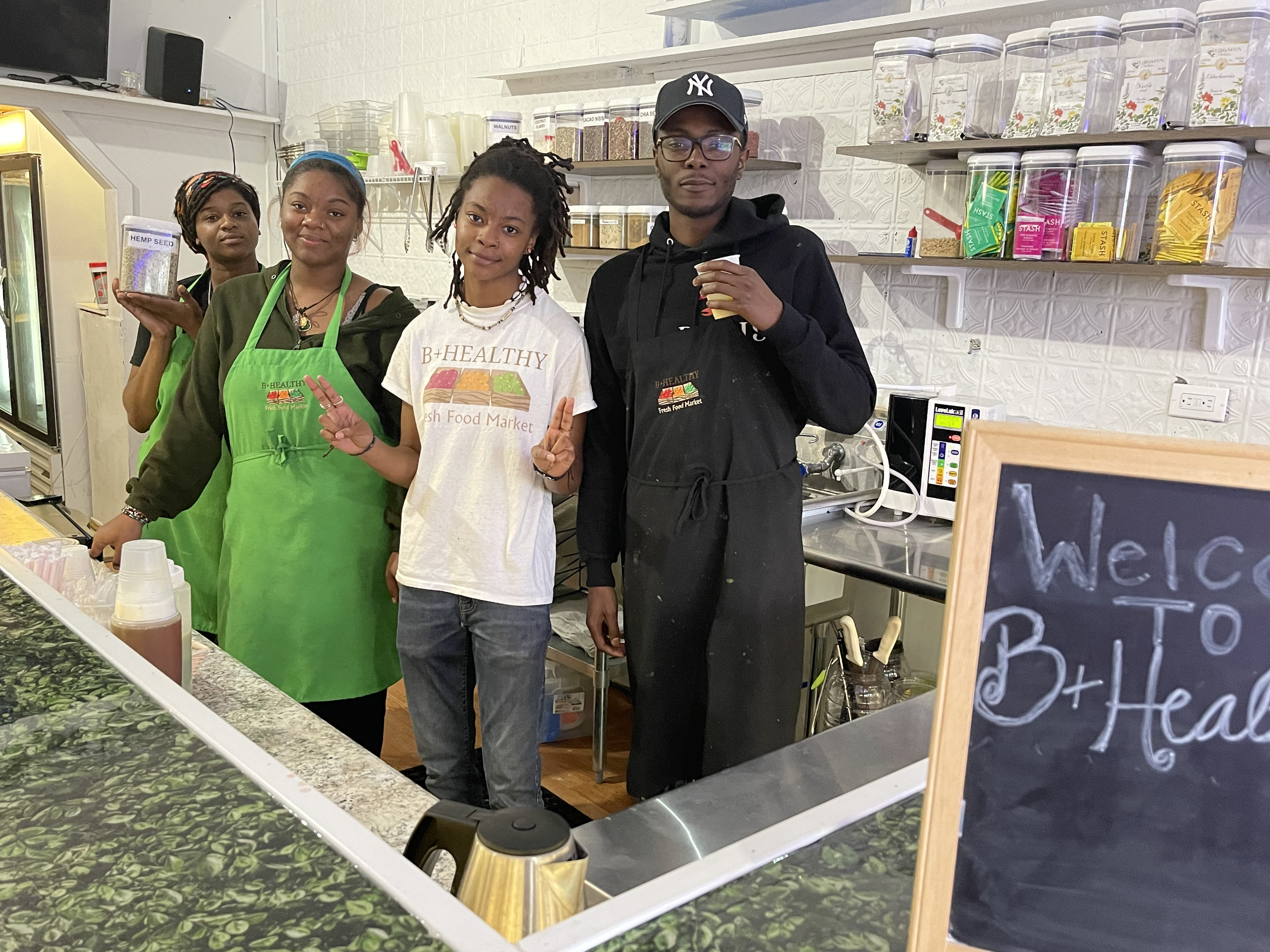 Health is Wealth at B+ Healthy Fresh Food Market