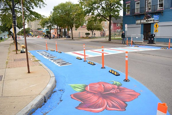 North Clinton Avenue Makeover Featured a Multicultural Flair
