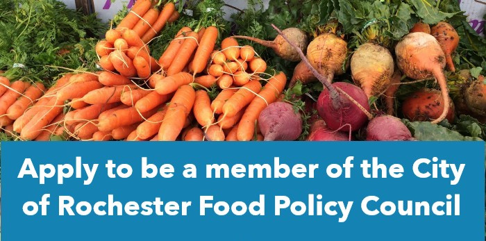 Action Alert: Apply to be a Rochester Food Policy Council Member Today!