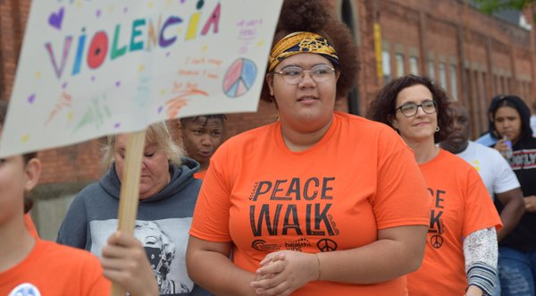 Kids Marched for the Right to Play in a Safe Neighborhood