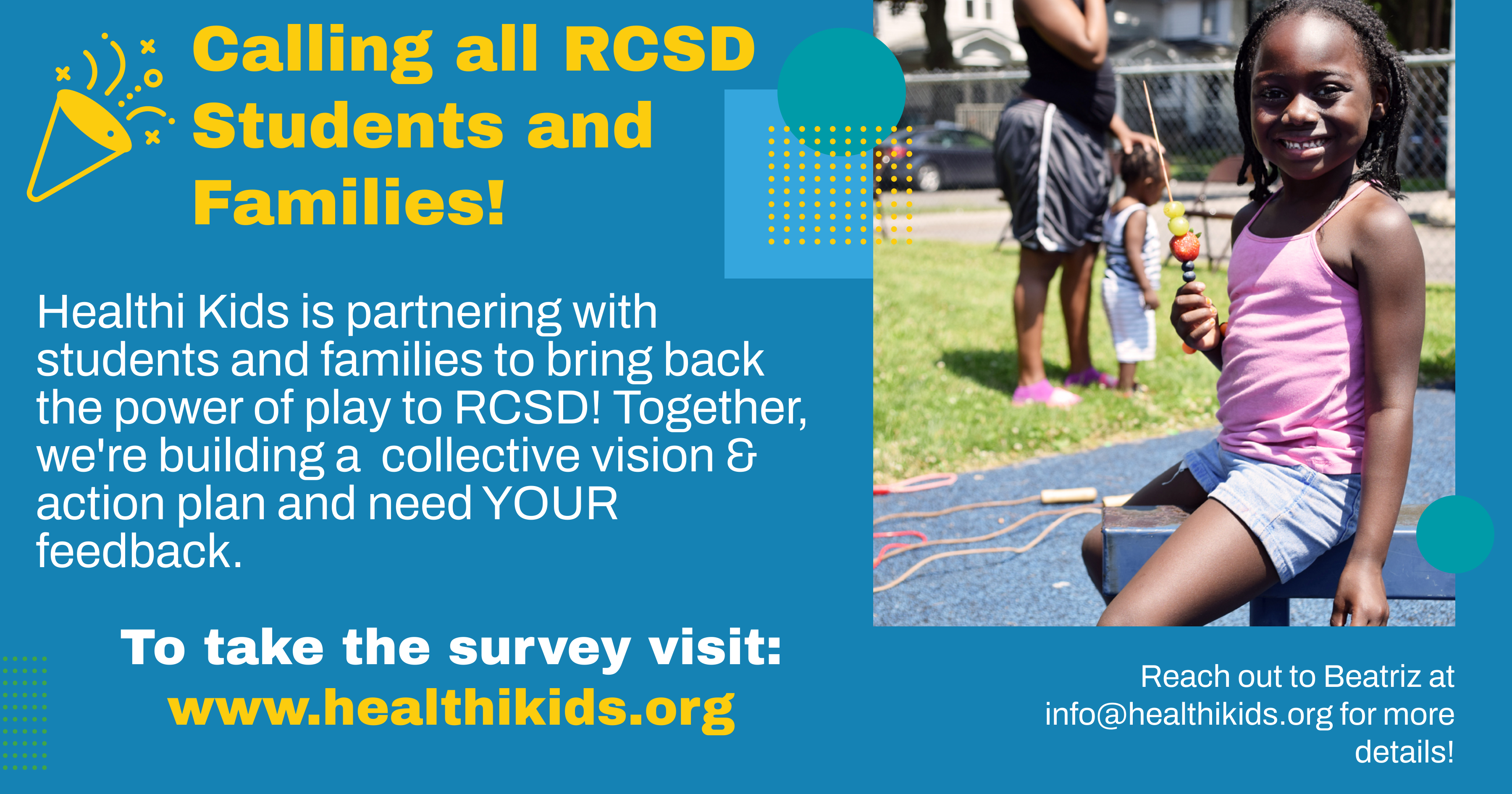 Action Alert: Tell Us Your Vision for Play in RCSD!