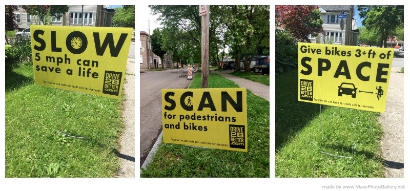 Safe driving campaign seeks help posting signs