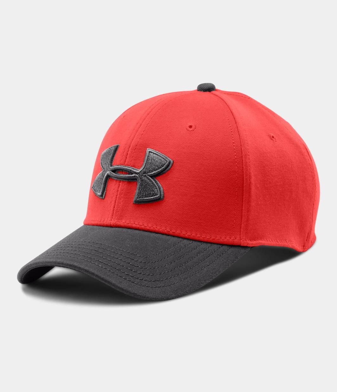 UA Orange Low Crown Stretch Fit Cap