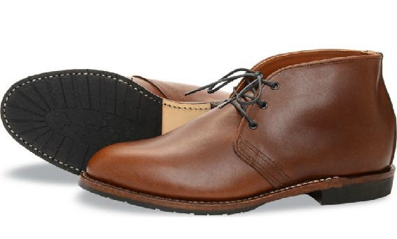 Red Wing Heritage Beckman Chukka Teak Featherstone
