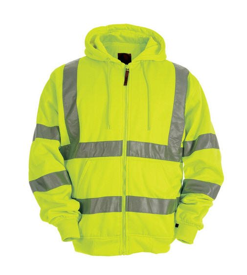 Berne Hi-Visibility Hooded Active Jacket