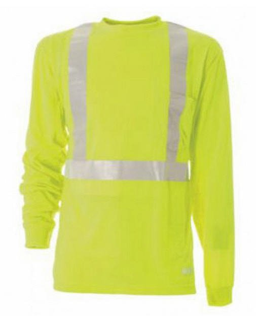 Berne Hi-Visibility Long Sleeve Pocket Tee