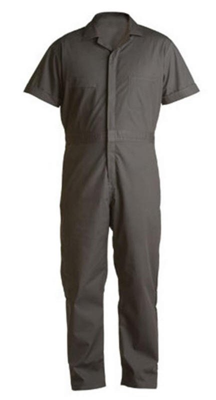 Berne Poplin Short Sleeve Coverall