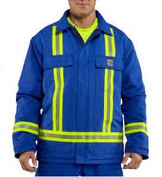 Carhartt Men's Duck Flame Resistant Coat