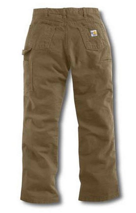 low cost elegant shoes matching in colour Carhartt Women s Flame-Resistant Relaxed-Fit Canvas Golden Khaki Jean