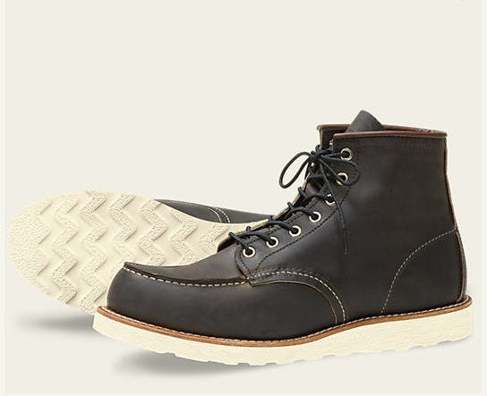 Red Wing 6-inch Classic Moc Charcoal