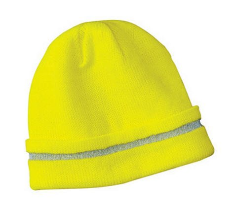 Safety Yellow Beanie