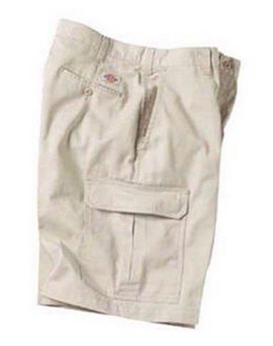 Dickies 10 Inch Inseam Khaki Cargo Short