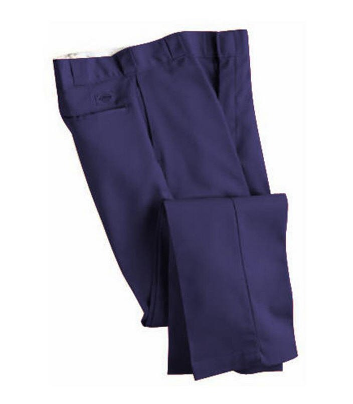 Dickies Navy Blended Non Pleated Work Pant