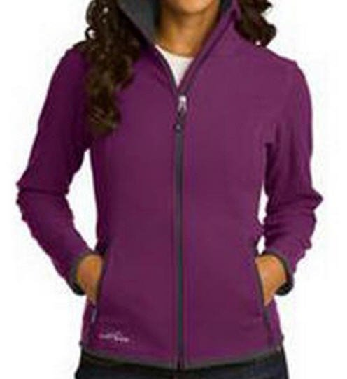 Eddie Bauer Ladies Full-Zip Vertical Fleece Jacket