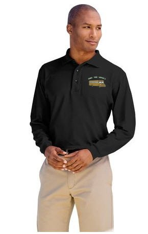Ohio Pre-service Transportation Long Sleeve Polo Shirt