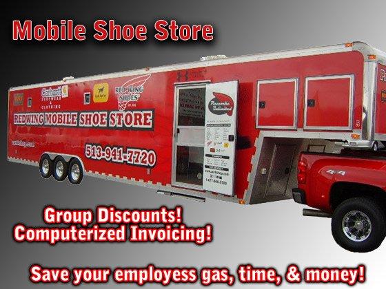 Mobile Shoe Store Cincinnati and